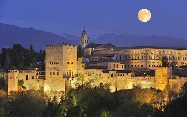 guide to visiting Alhambra de Granada Spain