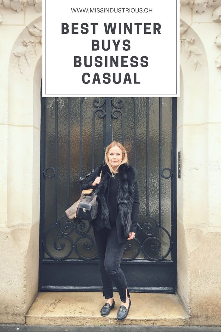 Best business casual outfits and ideas for winter. Upgrade your professional wardrobe with these essentials for cold weather