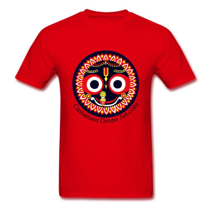 Red Jagganath- https://cintamanidivineart.com/product/jagannatha-t-shirt/