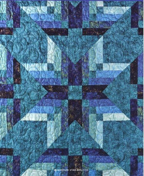 Missouri Star Binding Tool Star Quilt Pattern French