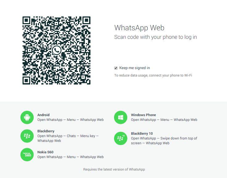 Muralha Informática: Lançando o WhatsApp para computador