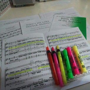 This was your favorite kind of homework. | 28 Signs You Were A High School Choir Geek Yep. Soooo totally me!