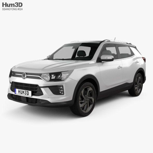 Ssangyong Korando 2020 With Images Car 3d Model Car 3d Model