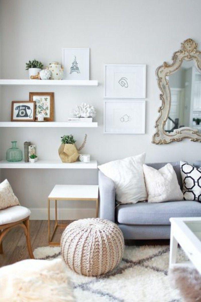 421 best Wohnzimmer Design images on Pinterest Four poster bed - lampe wohnzimmer modern