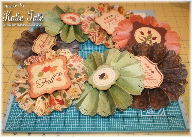 Rosette banner tutorialCards Ideas, 3D Paper, Paper Stacked, Banners Ideas, Handmade Flower, Make Paper, Cut Out, Paper Crafts, Paper Rosettes