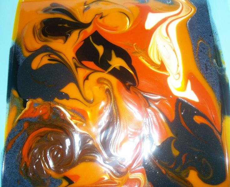 Soap Art - Fluid Technique