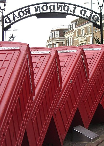 "Public Sculpture ""Out of Order"" in Kingston upon Thames"