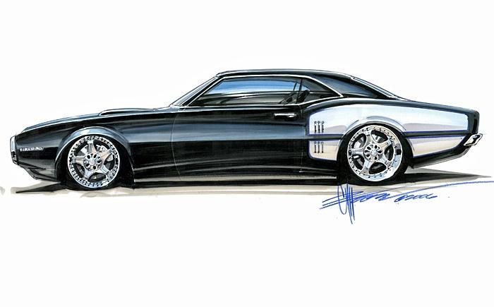 Pontiac Firebird,1968. Foose Design