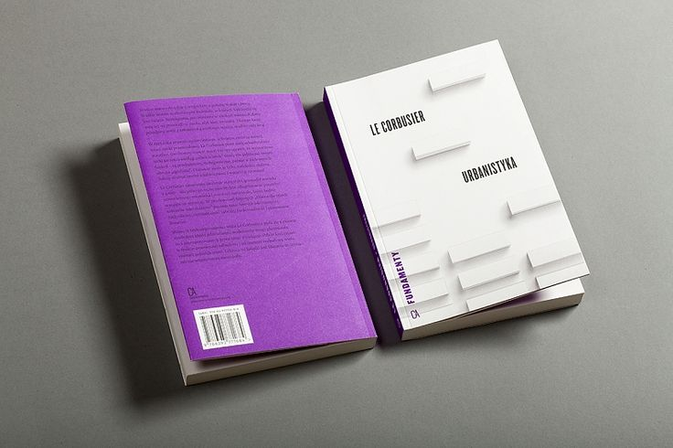 Le Corbusier / Urbanism / book cover design Kuba Sowiński