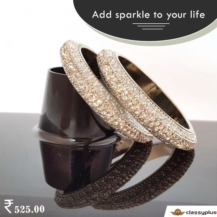 Add sparkle to your life. #Classyplus #womanAccessories #Shopping