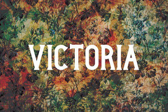 Victoria Typeface by BayleyDesign on @creativemarket