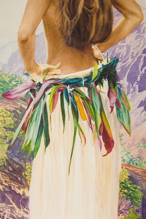 Still one of my favorites. By Steve Esteban Davis. Kauai Dancer - Ho'olewa