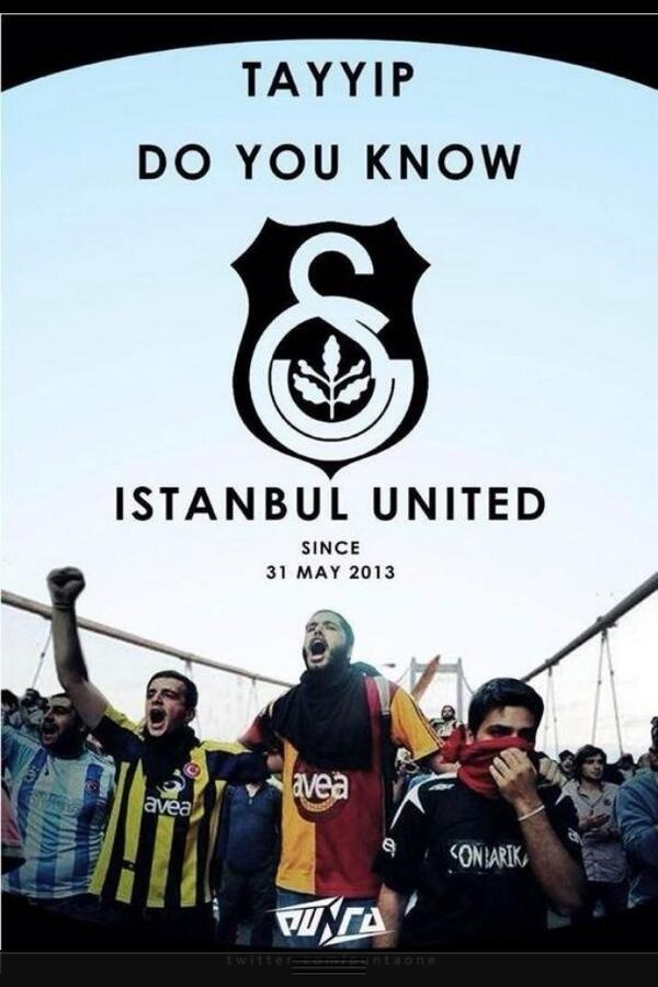 Istanbul United #occupygezi