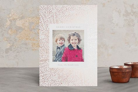 """""""fairylights"""" - Floral #merry #happyholidays #foil #gold #rosegold #merrychristmas #photocards #minted #holidayscards #cards #christmas #holiday #happynewyear #cheers #love #merrybright #religious #bright"""