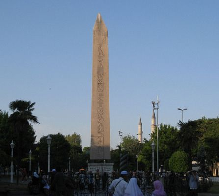 ISTANBUL, TURKEY OBELISK OF THEODOSIUS This remarkably well-preserved Egyptian plinth is pretty well traveled for a giant piece of stone