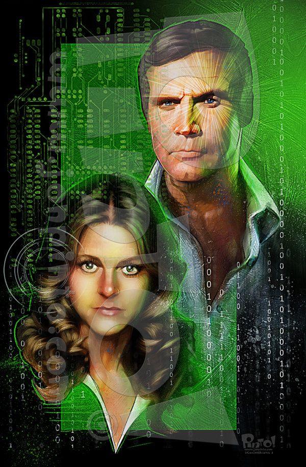 six million dollar man and bionic woman relationship books