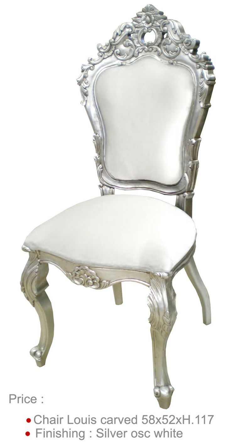 chaise mariage blanche chaise baroque location mobilier et baroque. Black Bedroom Furniture Sets. Home Design Ideas