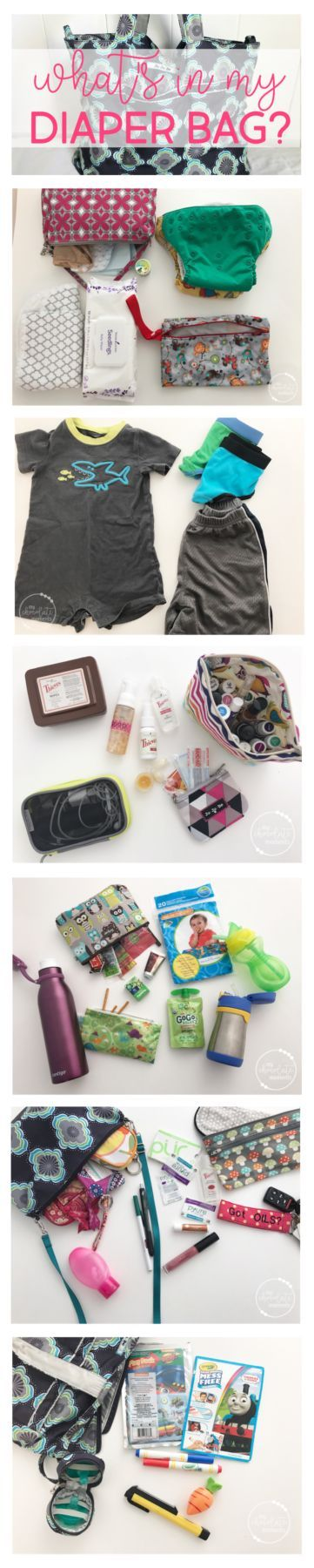 What's in my diaper bag? Ju-Ju-Be Super Be packed for an almost potty trained 3.5 year old and a 1.5 year old in cloth diapers   diaper bag essentials   diaper bag organization   JuJuBe diaper bags   Ju-Ju-Be Super Be packing   cloth diapers