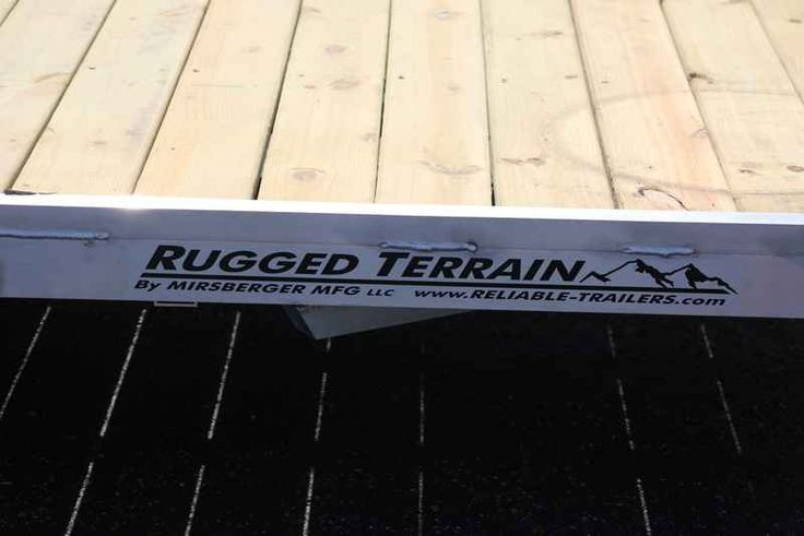 New 2017 Rugged Terrain 17 EZ6.5X12 ATVs For Sale in Wisconsin. 2017 Rugged Terrain 17 EZ6.5X12, ? 2200# Dexter Torsion Easy Lube Axle ? 2x3 1/8th Inch Tubular Aluminum Frame ? 5/4 Treated Plank Deck ? Aluminum Fenders ? 4ft Tubular Aluminum Mesh Ramp ? 1 x 2 Tubular Aluminum Tube Rail or Stake Pockets ? One Piece Wiring Harness ? DOT Rubber Mounted Sealed LED Lights ? (4) D-Rings ? 2 Coupler