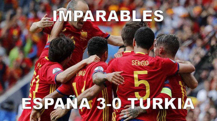 Crea tu #memes de #futbol de la #eurocopa 2016,  https://play.google.com/store/apps/details?id=com.mochiba.meme.produce 1ª Jornada #España 3-0 #Turkia