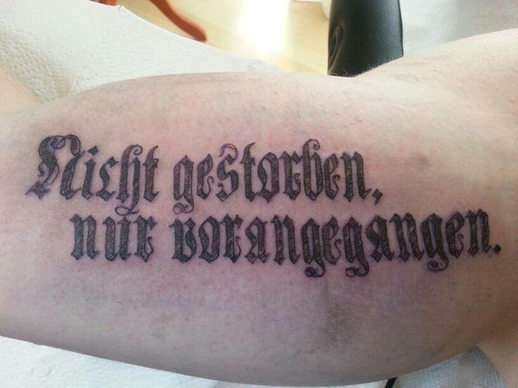 Word tattoo by Martin Nissl