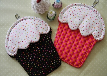 391 best Potholder images on Pinterest | Potholders, Hot pads and ... : quilted hot pad patterns free - Adamdwight.com
