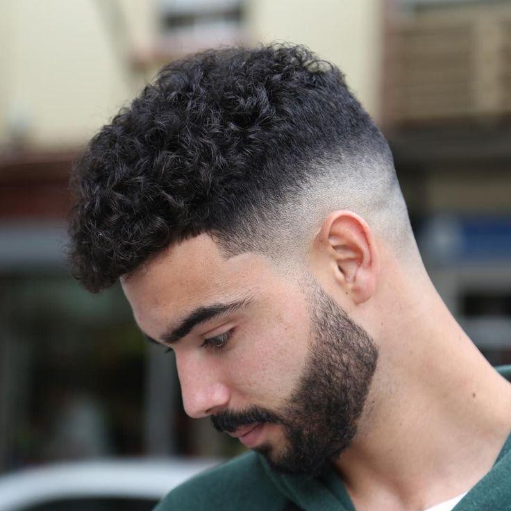 Mens Curly Hairstyles Gallery Frisurer Til Krollet Har Tykt Har