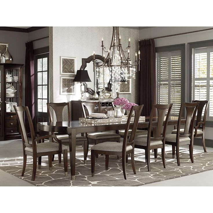 Marvelous 47674278 By Bassett Furniture In Poplar Bluff, MO   Cosmopolitan  Rectangular Dining Table