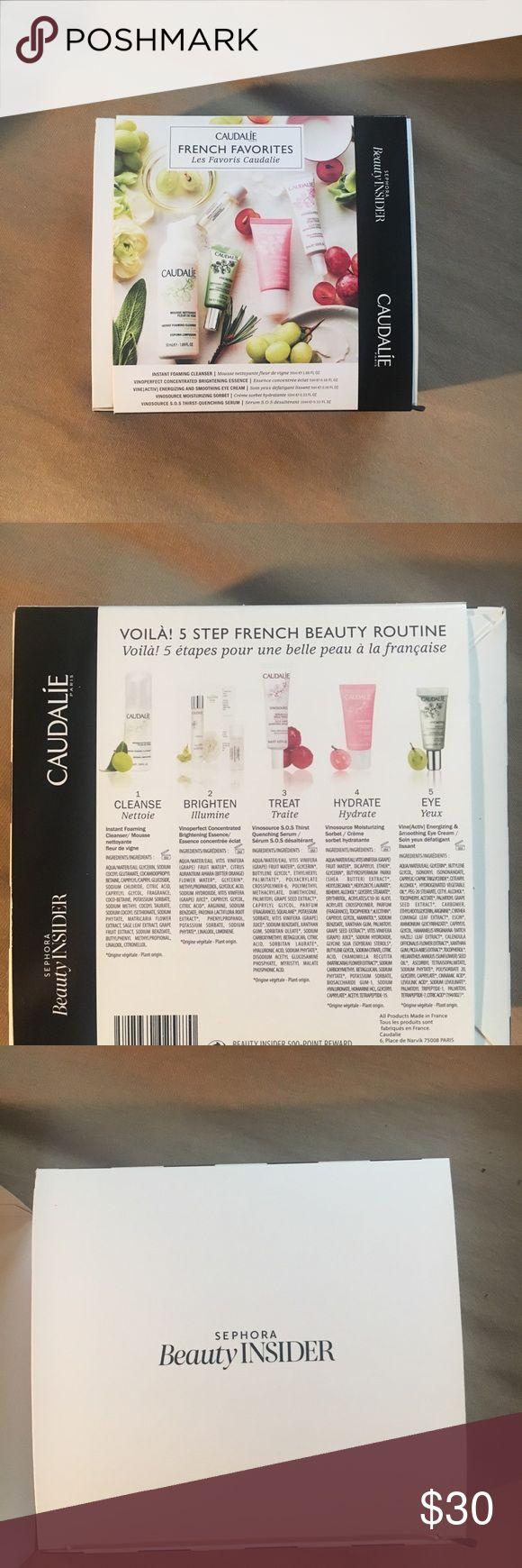 Sephora Gift Box: Brand New Caudalie French Favorites Gift Box NWT