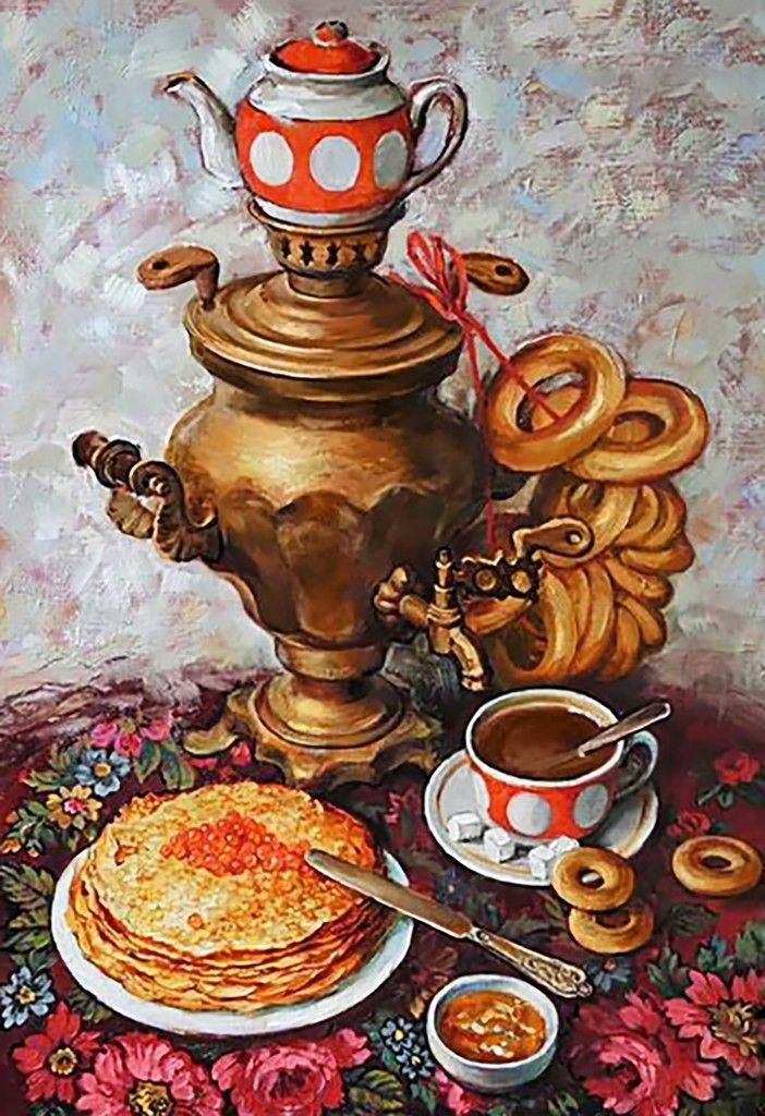 картинки рисунки чаепития