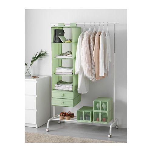 SKUBB Organizer with 6 compartments  light green light green 13  x17  x49. 34 best IKEA Wishlist images on Pinterest   Hanging storage  Ikea