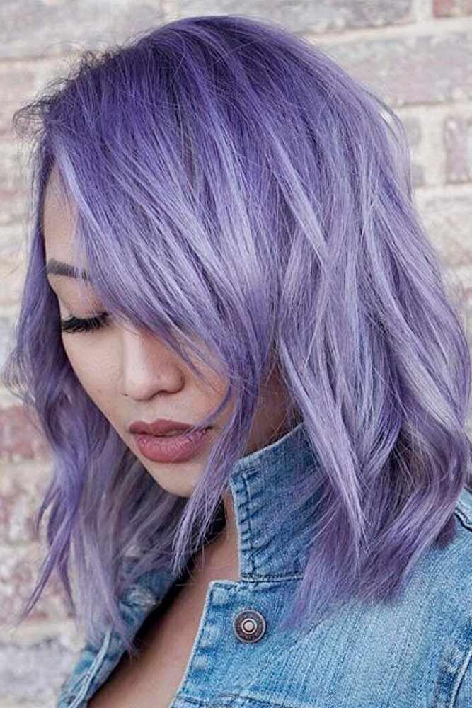 Best 25 Short Lavender Hair Ideas On Pinterest Hair Cut