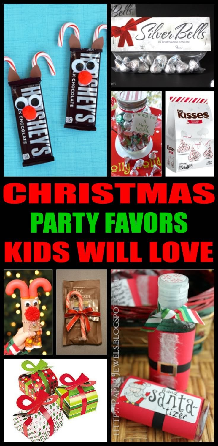Christmas Party Favors! Best ideas for kids, for teens & adults ...