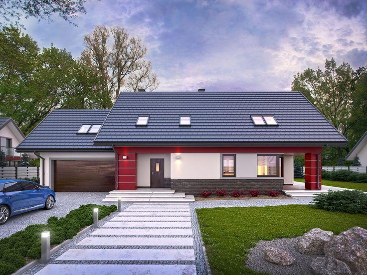 Projekt domu TP Magnus - DOM TP1-67 - gotowy projekt domu