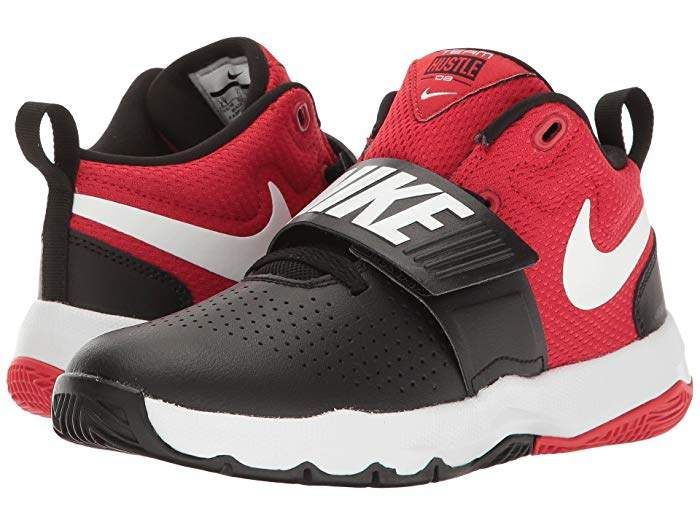 Nike Team Hustle D8 (Little Kid)   Boys shoes black, Boys