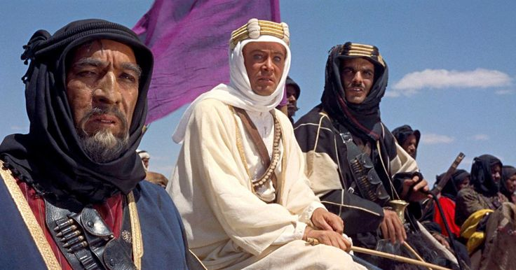 The Closing Night film of Widescreen Weekend Festival was the epic Lawrence of Arabia. A new print in 70mm was shown at the festival at the National Science & Media Museum!