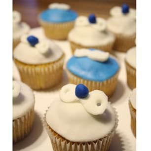 Schnuller cupcake