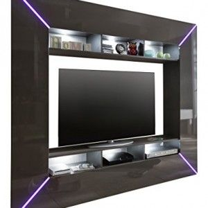 Furnline-Living-Room-Furniture-Set-TV-Stand-Wall-Unit-Scooter-High-Gloss-Grey-0