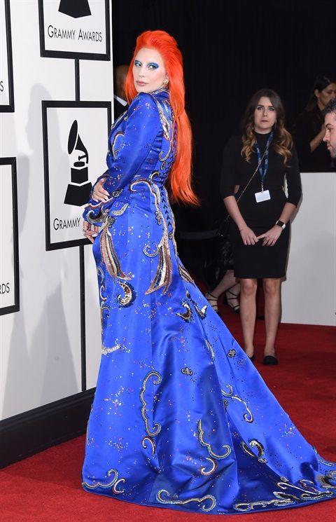Grammy 2016: capelli e trucco - Lady Gaga