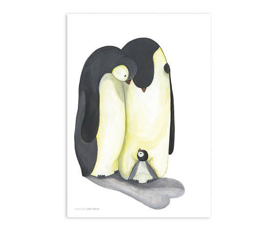 Childroom art penguin