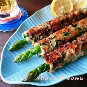 じゅわっとジューシー♪丸ごとアスパラ塩つくね♪+by+しゃなママさん+|+レシピブログ+-+料理ブログのレシピ満載! +こんばんは~♪  昼から天気も良くなって春らしくて暖かかったですね(#^.^#)♪  そんな今日の夕御飯~♪  旬の瑞々しいアスパラを丸ごと使った塩つくねです♪  ご飯はもちろん冷たいビールにめちゃ...