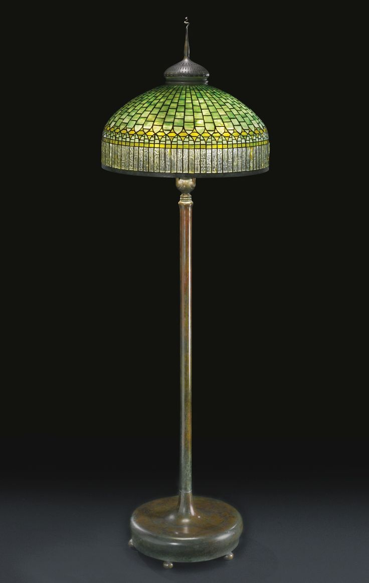 Tiffany Floor Lamp New 346 Best Tiffany Lamps And Stained Glass Images On Pinterest Decorating Inspiration
