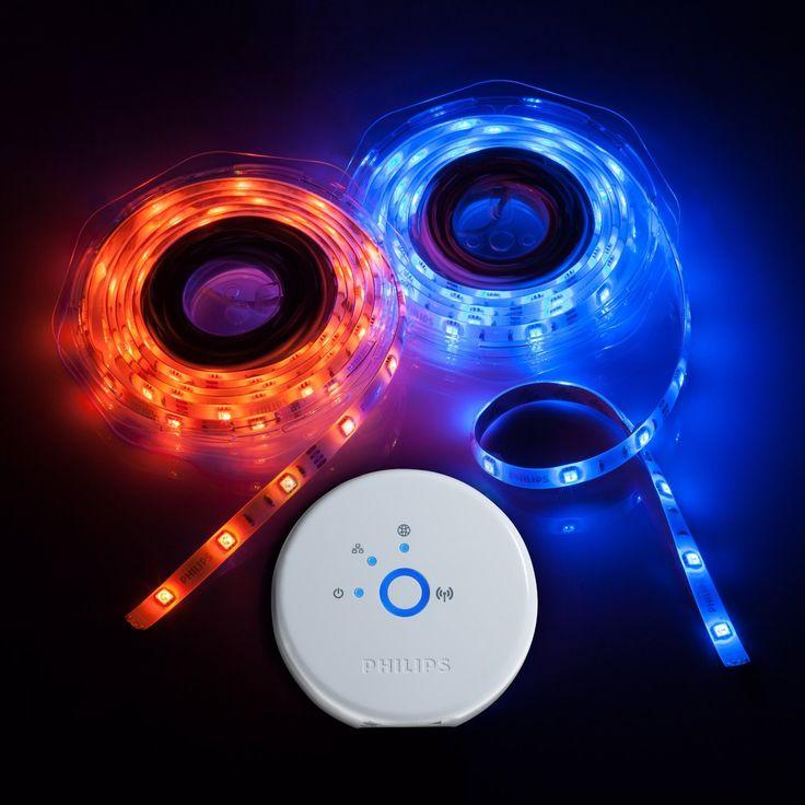 Phillips Hue lights - wifi powered lights!