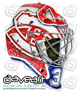 Brand new goalie mask for Carey Price - Bauer Edition by DAVEART