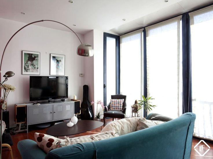 Appartement de deux chambres en vente à Gràcia, Barcelone.