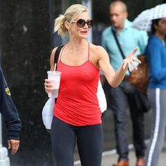 """Pinner said """"10-Minute Arm Workout With Cameron Diaz's Trainer Teddy Bass--Been doing this routine for two weeks now, it's really toning up my arms! DO IT!"""""""
