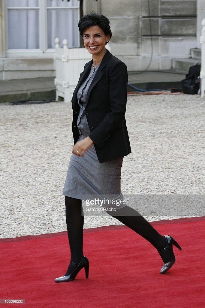 Rachida Dati in Paris, France on September 12th, 2008.