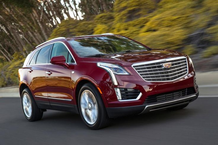 2017 Cadillac XT5 front #2017CadillacXT5