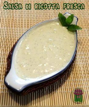 Salsa di ricotta fresca, cucina preDiletta