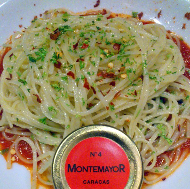 Linguini Arrabiata con Aji Rojo MontemayoR